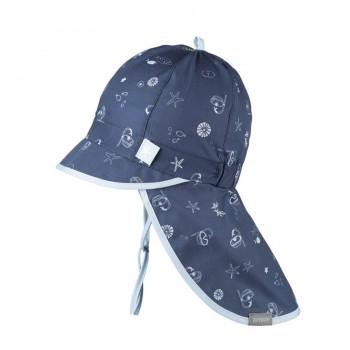 Navy Schirmmütze Nackenschutz