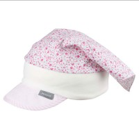 Kopftuch Stirnband Capi Blume rosa