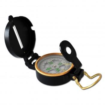 Metall Kompass schwarz ab 5 - 15 Jahre