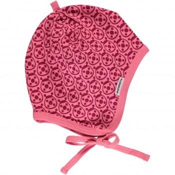 Marienkäfer Babymütze pink