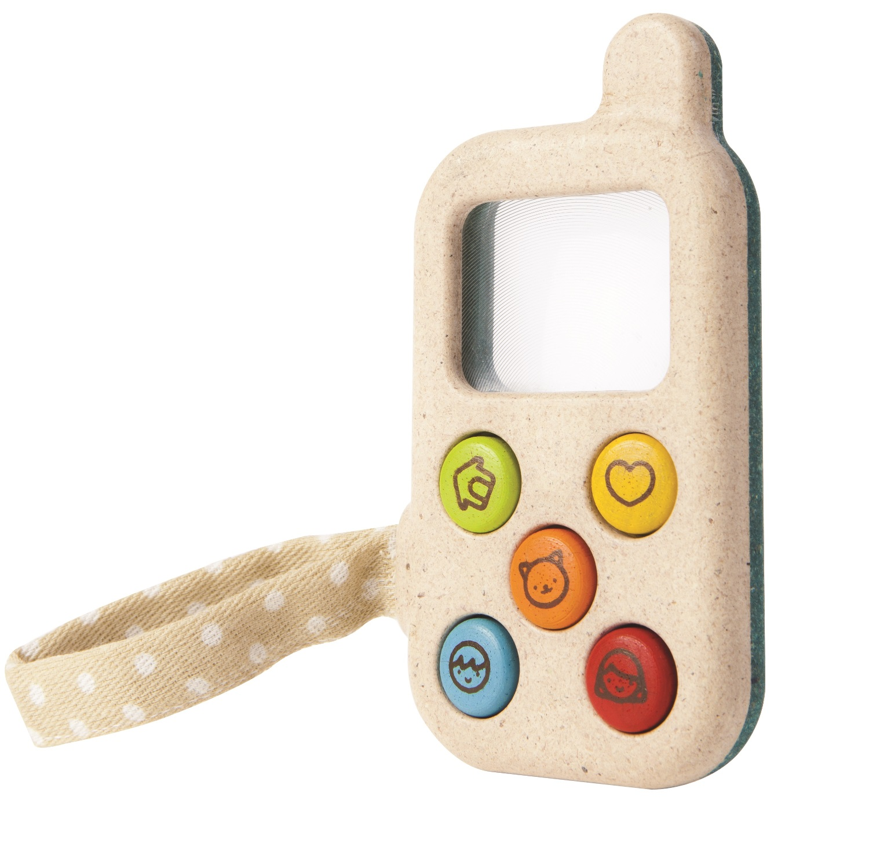 PLANTOYS Spielzeug Handy aus Holz