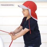 Vorschau: Leichte Kinder Capi Nackenschutz grau