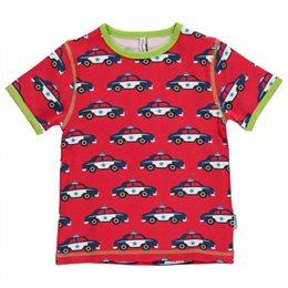 Polizei Autos Bio T-Shirt Jungen