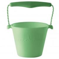 Weicher Sandeimer Sililkon green