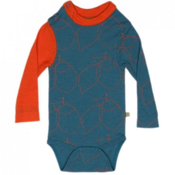 Baby Body Schurwolle kbT - Designerstück - extravagant