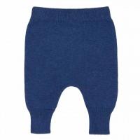 Baby Strickhose Wolle blau