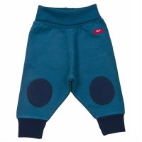 Warme Sweat Babyhose mit softem Leibbund + Kniepats