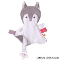 Kikadu Schnulltertuch Fuchsmädchen
