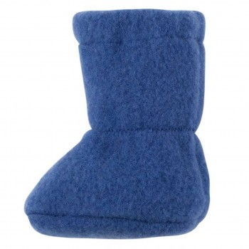 Bio Baby Füsslinge warm in blau