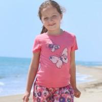 Enfant Terrible Bio Mädchen Shirt Schmetterlinge