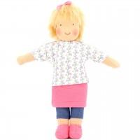 Bio Puppe zum Ankleiden 38 cm - Laura