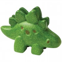 Stegosaurus Dinofigur Holz – 9,3 cm