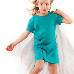 Bio Nachthemd für Mädchen - Pusteblume