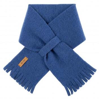 Steckschal Wolle 70 cm ca. 1-3 Jahre blau
