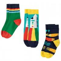 Kinder Socken 3er Pack Zug
