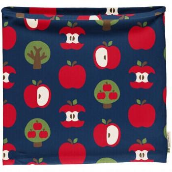 Schlauchschal Äpfel in marine 68/92