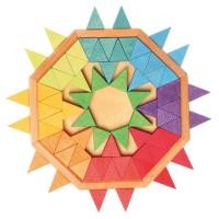 Vorschau: Mandala räumliches Denkspiel Gestaltung 72 Teile