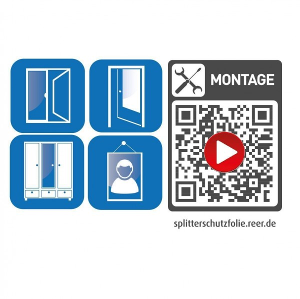 Splitterschutzfolie für Türen & Fenster - Relaunch