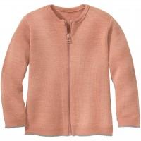 Atmungsaktive Strickjacke leicht in rosa