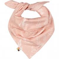 leichtes Dreiecktuch Meer rosa
