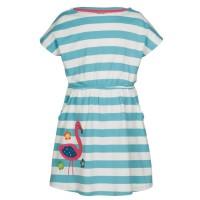 Vorschau: frugi Sommerkleid Flamingo mit Taschen
