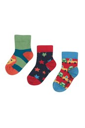 Babysocken & Kindersocken Bio im 3er Pack