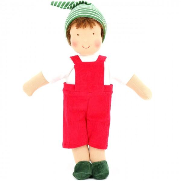 Bio Puppe zum Ankleiden 38 cm - Mattis