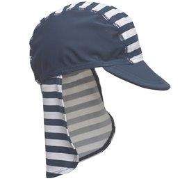 Schirmmütze mit Nackenschutz - Matrose