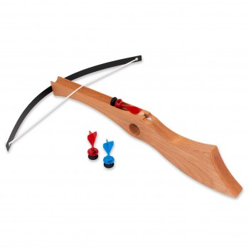 Grosse Kinderarmbrust mit 3 Saugpfeilen 45 cm