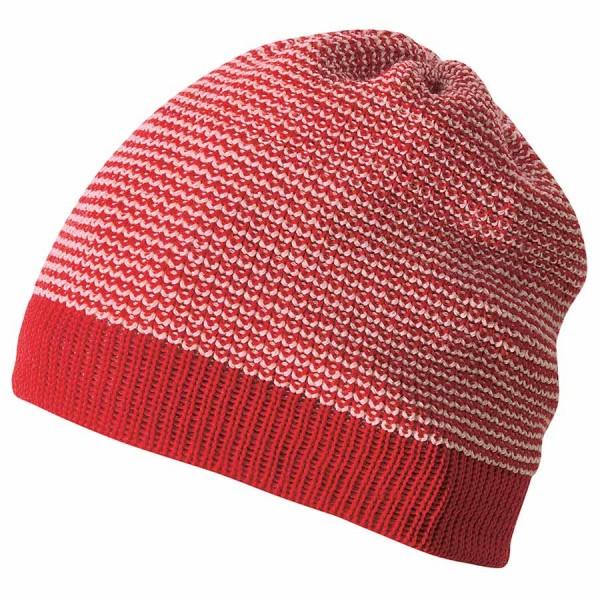 Beanie normal weich warm atmungsaktiv rot
