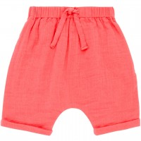 Musselin Shorts luftig in rosa