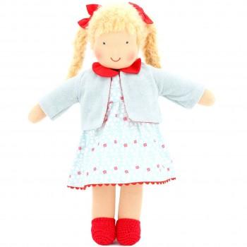 Bio Puppe zum Ankleiden 38 cm - Charlotte