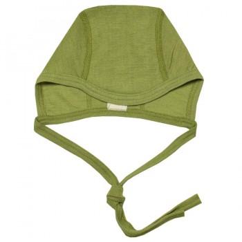 Ganzjahres Babymütze für Neugeborene grün