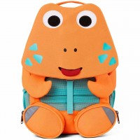 Kita Rucksack 3-6 Jahre Krabbe neon orange