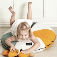Bodenkissen 80 x 20 cm als Kindersitzkissen