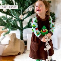 Vorschau: Bio Baby Body langarm - Tanne