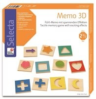 Fühl-Memo mit spannenden Effekten 3D ab 2,5 Jahren