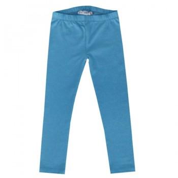 Blaue Mädchen Leggings