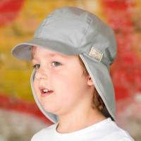 Felix Schirmmütze voluminös verarbeitet UV-20 grau
