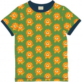 Kurzarmshirt Löwe grün