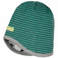 Mütze zum Wenden Pinguine grün