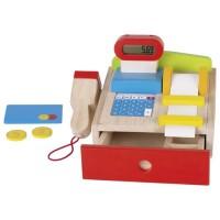 Realistische Kasse für kleine Ladenbesitzer