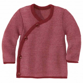 Wickeljacke Baby in bordeaux