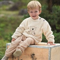 Vorschau: Leichte Jogginghose Kinder - ungefärbt terra