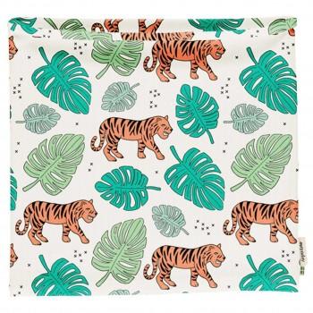 Schlauchschal leicht Jungle Tiger in hellblau 68/92