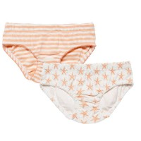 Doppelpack Slips pastell-apricot