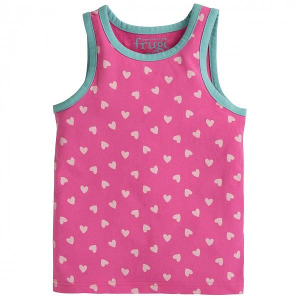 Unterhemd Herzchen in rosa