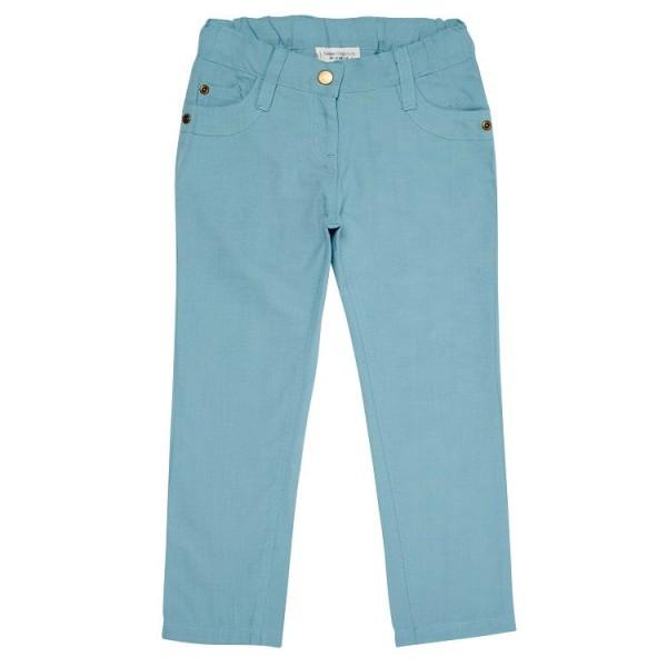 Leichte Kinder Sommerhose für Jungen & Mädchen - blue