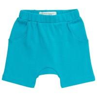 Bio Baby Shorts neutral türkis