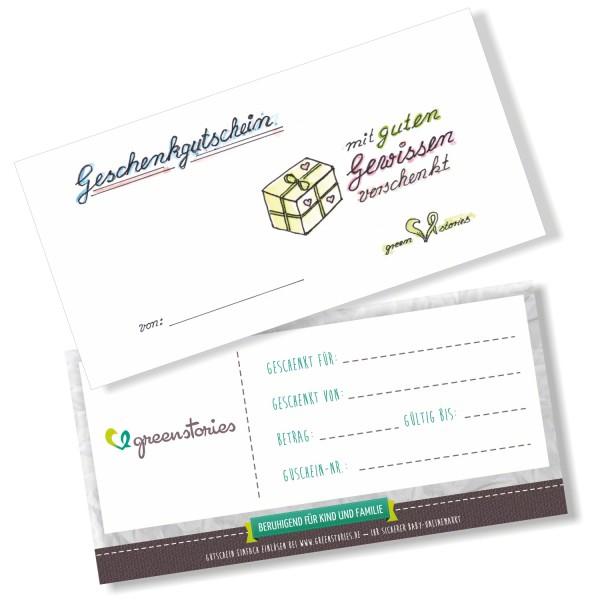 Geschenkgutschein neutral - für jeden Anlass das Passende